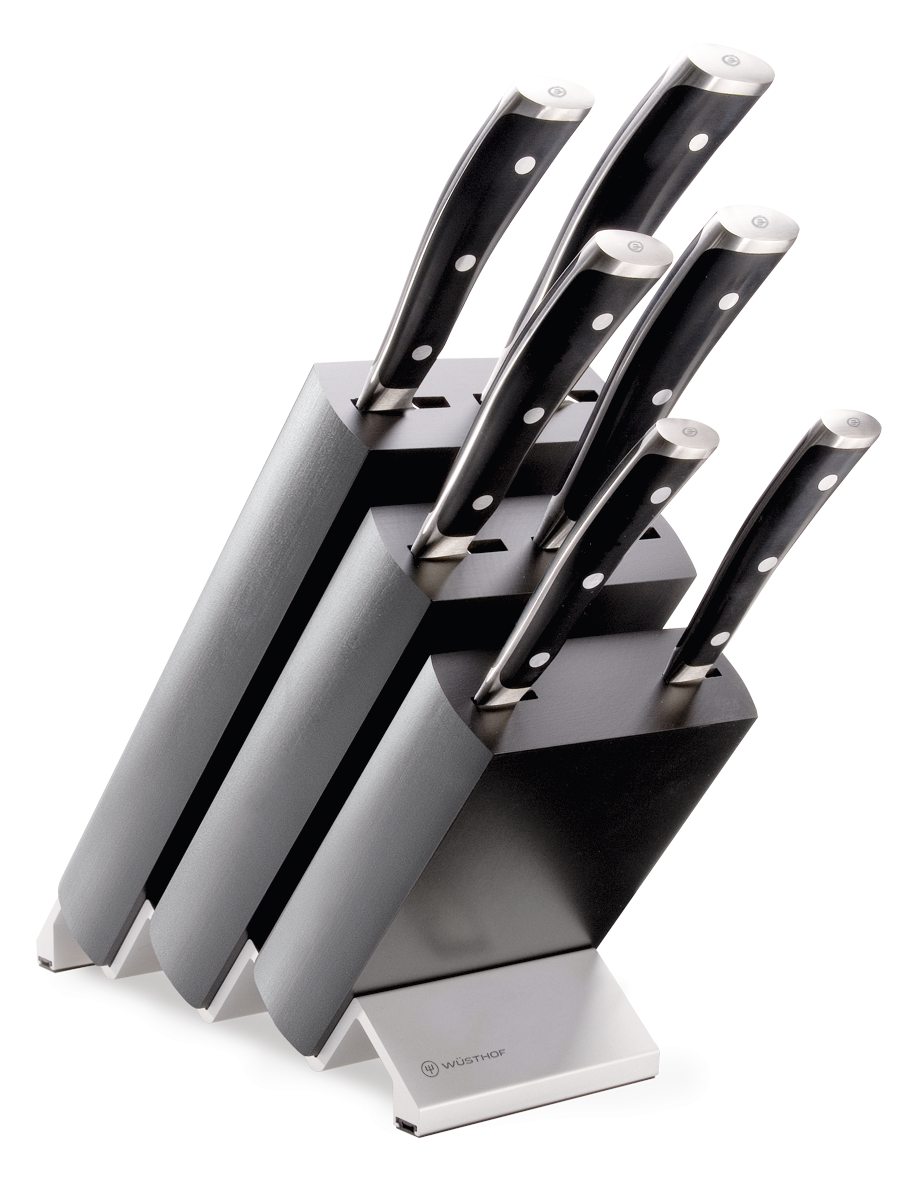 Knife block with 6 pcs.