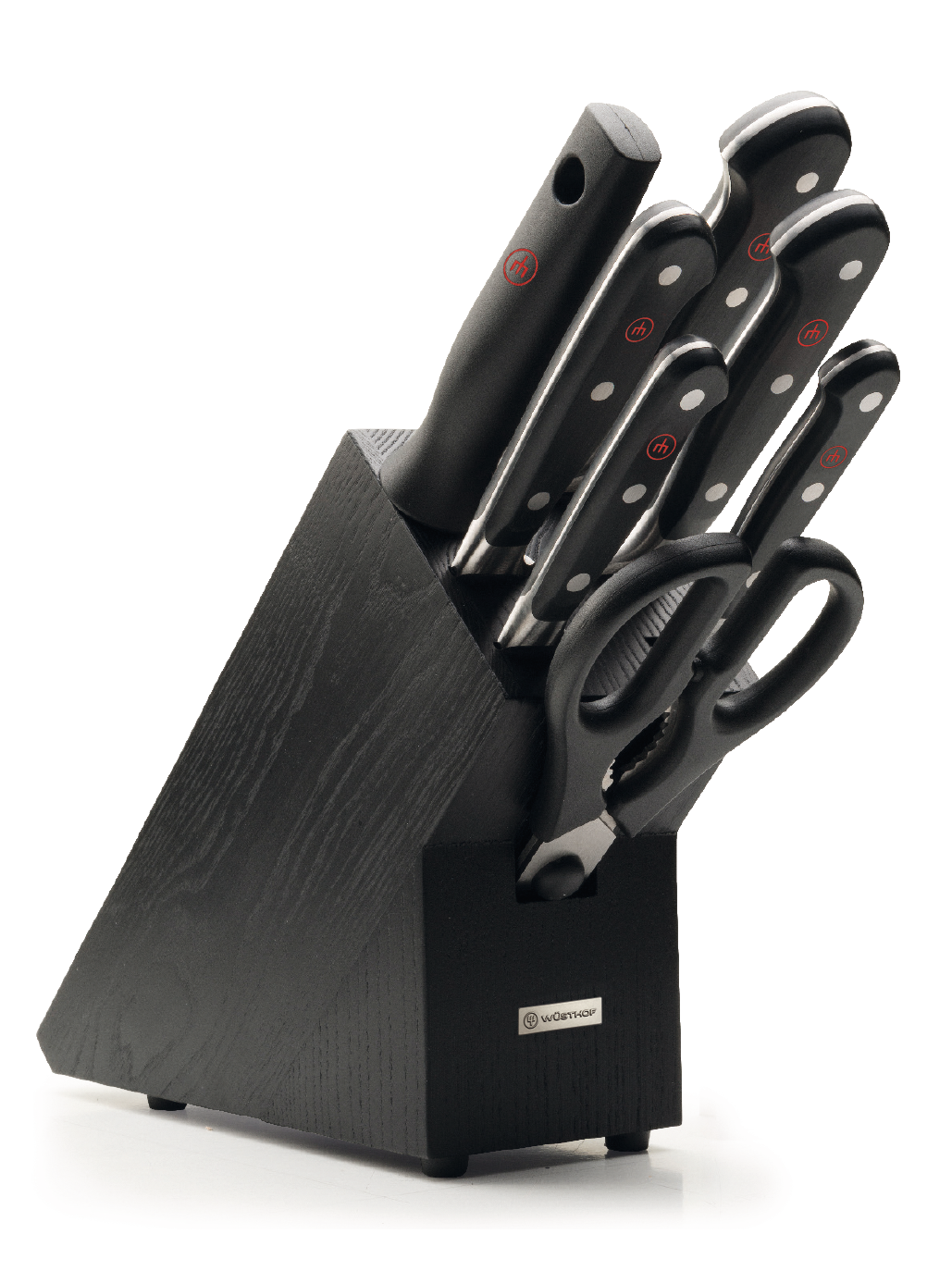 Knife block with 7 pcs.