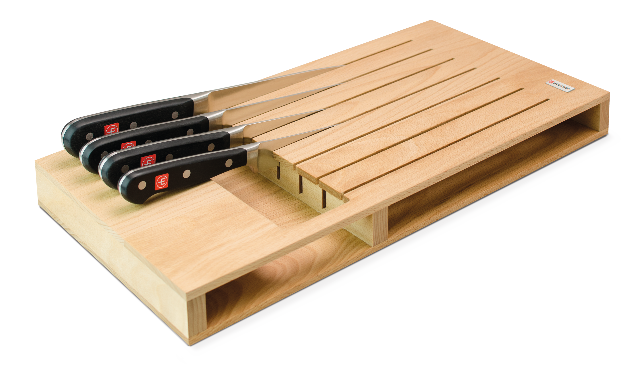 In-drawer knife organiser