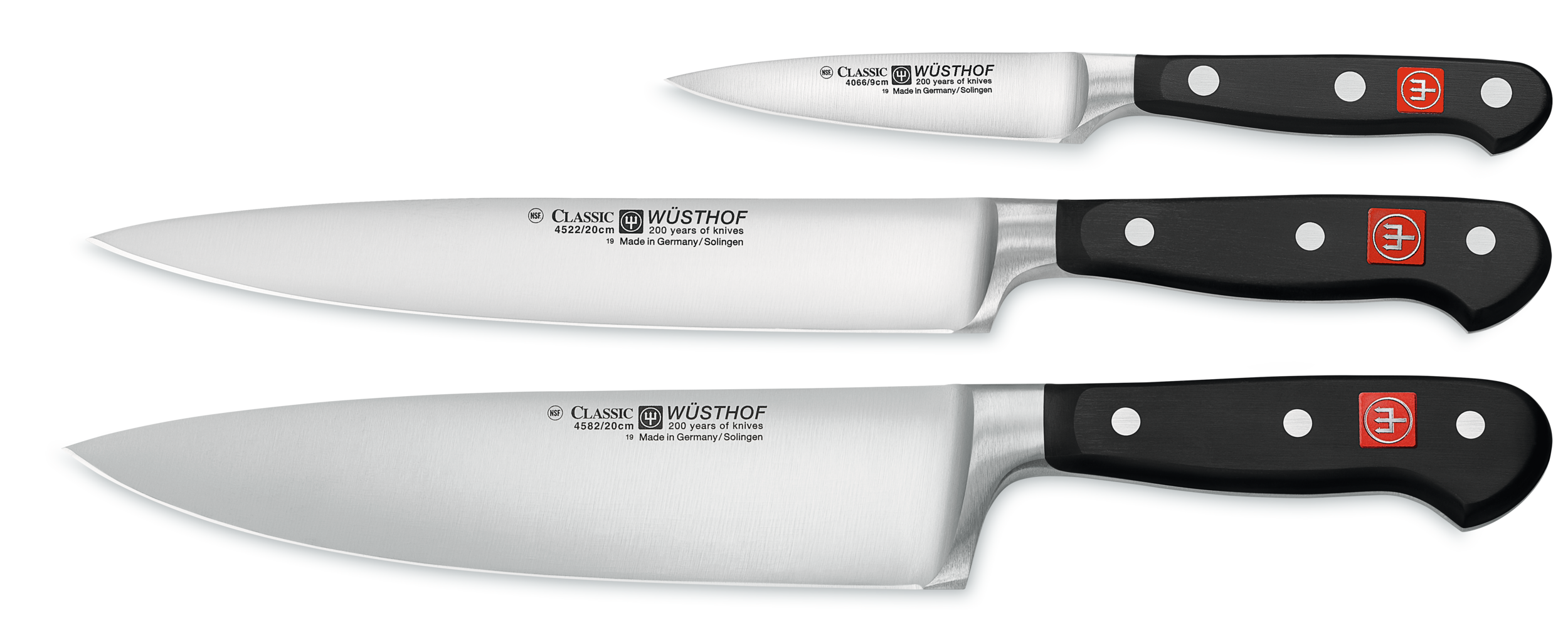 3 pc. knife set